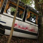 Busunfall Schüler hatten großes Glück /b1