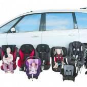 Vier Kindersitze fielen bei ÖAMTC-Test durch