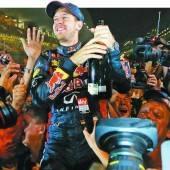 Sebastian Vettel machte Titel Nummer vier perfekt