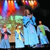 Energiegeladene Gospelmusik