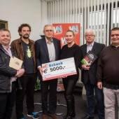 Dornbirner Flohmarkt-Team: 5000 Euro für Ma hilft