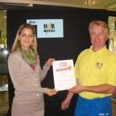 Auszeichnung für HAK-Café