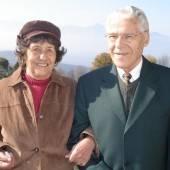 Irmengard Reischl und Erich Pedot feiern ihren 90. Geburtstag
