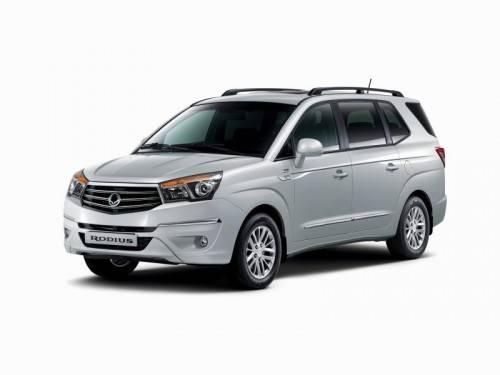 Großraum-SUV mit sieben Sitzplätzen von Ssangyong.
