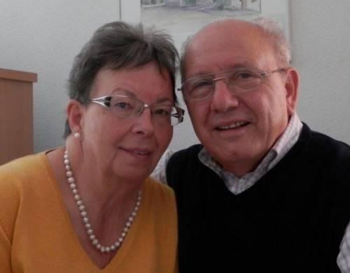 Helga und Oskar können auf schöne, gemeinsame Ehejahre zurückblicken.