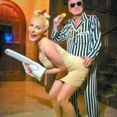Miley Cyrus als beliebtes Kostüm für Halloween