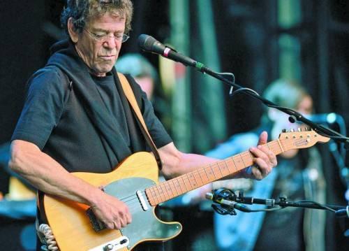 Im letzten Jahr trat Lou Reed noch in Berlin auf. Foto: EPA