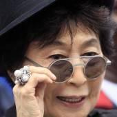 Yoko Ono ist eine Optimistin
