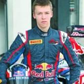 Kvyat fährt 2014 für Toro Rosso