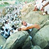 1,5 Millionen Pilger auf dem Berg Arafat