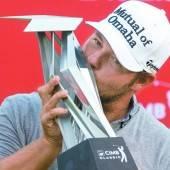 Ryan Moore holt sich Golftitel Nummer drei