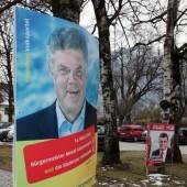 Wahlkampf ohne Plakat