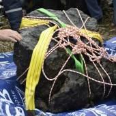 Meteoriten-Reste aus russischem See geholt