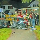 Junger Götzner starb im Wrack des Unfallautos