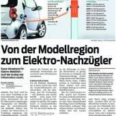 Wo Elektroautos einen Boom erleben
