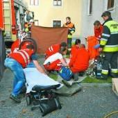 Gasverpuffung verletzte 56-jährigen Mann schwer