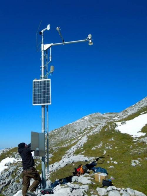 Weltweit einzigartig: Hightech-Messstation von Sommer. Foto: SM