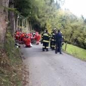 Schulbus stürzte 70 Meter ab