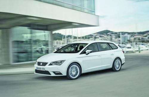 2012 erneuert, heuer erweitert: Die Seat-Leon-Baureihe hat nun auch eine Kombi-Karosserievariante. Fotos: werk