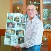 Nach 67 Jahren Vater getroffen