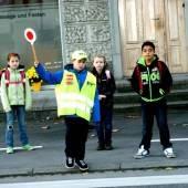Schülerlotsen in Lustenau bereit für ihren Einsatz
