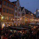 Ab Freitag weihnachtets in Feldkirch