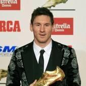 Goldener Schuh für Messi
