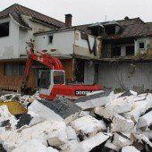 Ruine vor Abriss