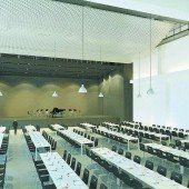 Gemeindesaal in Warteschleife