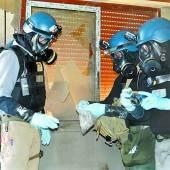 Giftgas-Mission verzögert sich
