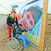 Hilfe für Flüchtlinge und ein Haus für behinderte Kinder
