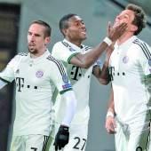 FC Bayern schon im Achtelfinale