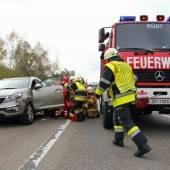 Medizinischer Notfall auf der Autobahn