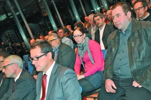 Der informative Vortrag stieß beim Publikum auf große Aufmerksamkeit. Fotos: cm