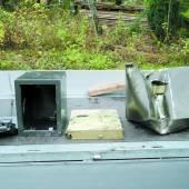 Einbrecher karrten Tresore mit Schubkarre davon