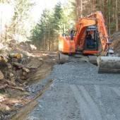 Neuer Forstweg im Bickelwald wurde errichtet