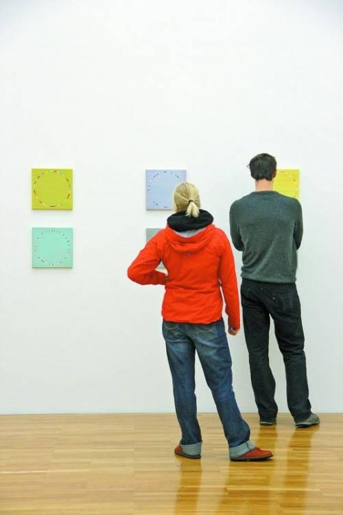 Die Künstler Carol und Sutton zelebrieren in ihren Werken die Vollkommenheit stiller Harmonie. Fotos: AG