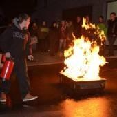 Lehrlinge übten das Verhalten im Brandfall