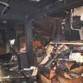 Brand im Obergeschoß: Paar rettet sich ins Freie