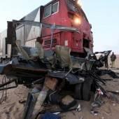 Zugunglück mit 25 Todesopfern
