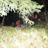 Zwei Wanderer stürzen 50 Meter in die Tiefe
