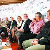 Hochkarätiges Gipfeltreffen in Lech