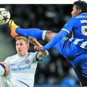 Austria Wien trotz 1:1 bei Porto in der Champions League ausgeschieden