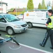 Zwei Fahrradfahrer in Dornbirn verletzt