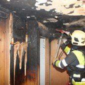 Defekter Kühlschrank löst Brand aus