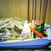 Alonso nach Manöver zu einem Check ins Spital