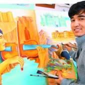 Jugendlicher Asylwerber bestreitet eigene Ausstellung