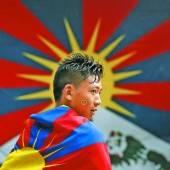 Tibetische Exilanten fordern die Freilassung ihrer Landsleute