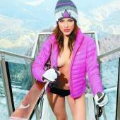 Amina Dagi im Skilehrer(innen)-Kalender