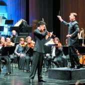 Brillanter Solist Landesorchester holte Freunde /D3